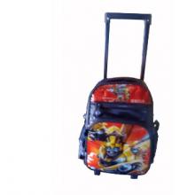 """Trolley Wheel School Bag 14"""" Medium Size for Boys"""