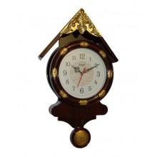 Pendulum Wall Clock Hut Design