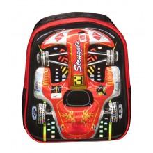 """3D Cartoon Car Pre School Bag 13"""""""