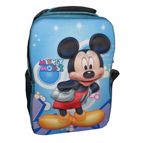 3D Mickey Mouse Cartoon Boys Kids School Bag 17   - Multicolored ...