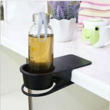 Portable Clip-On Desk Mug Cup Phone Holder